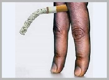 Влияние сигарет - юмор