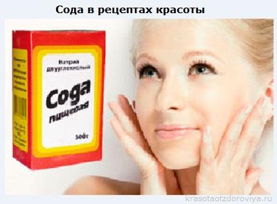 применение соды