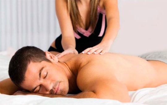 массаж мужчине