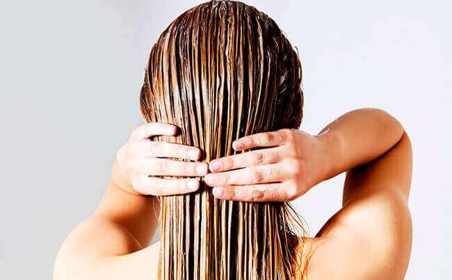 Маска с желтком для волос