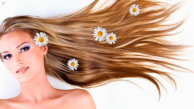 Домашняя косметика для волос