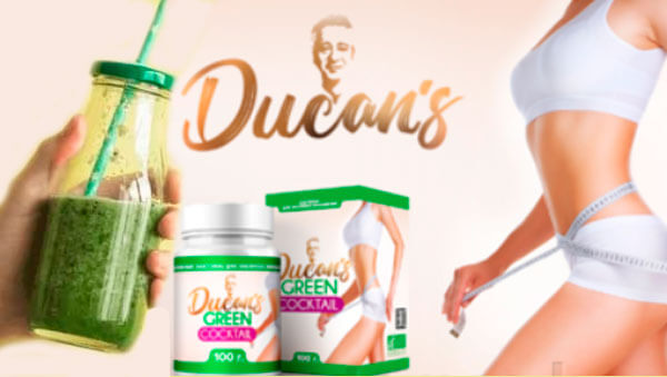 зеленый коктейль Дюкана для похудения