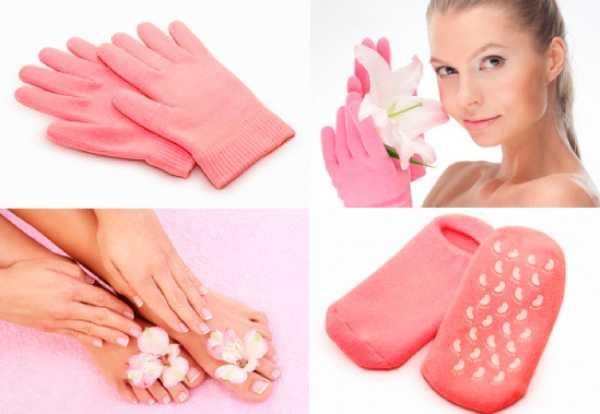 Гелевые носки и перчатки