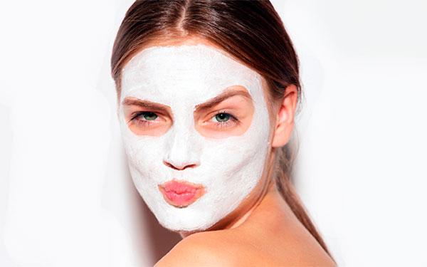 Пробиотическая маска для лица.