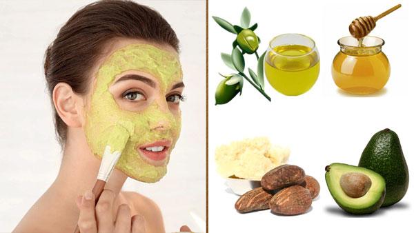 Маски для лица с маслом ши для сухой кожи