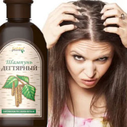 дегтярный шампунь для волос