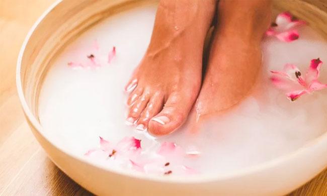 вросший ноготь ванночки